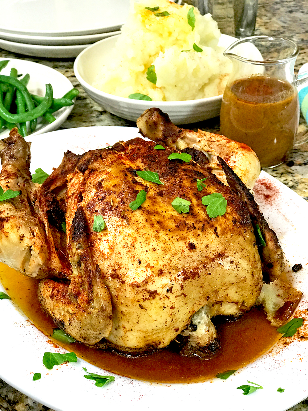 Whole Chicken Pressure Cooier Recipe using the instant pot