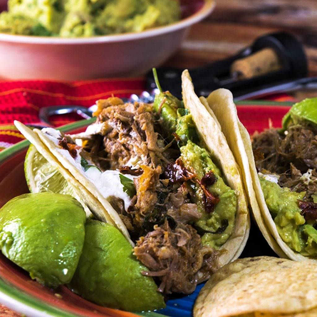 Instant Pot Pork Tacos are fast and easy to make.