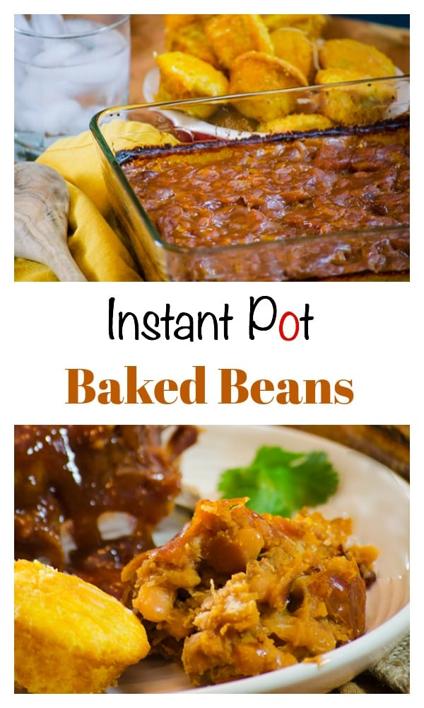 This Instant Pot Quick Baked Beans recipe is a delicious homemade baked beans recipe that you make from scratch and is ready to eat in just over an hour.