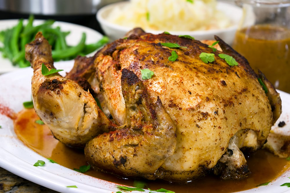 Instant Pot whole chicken pressure cooker recipe