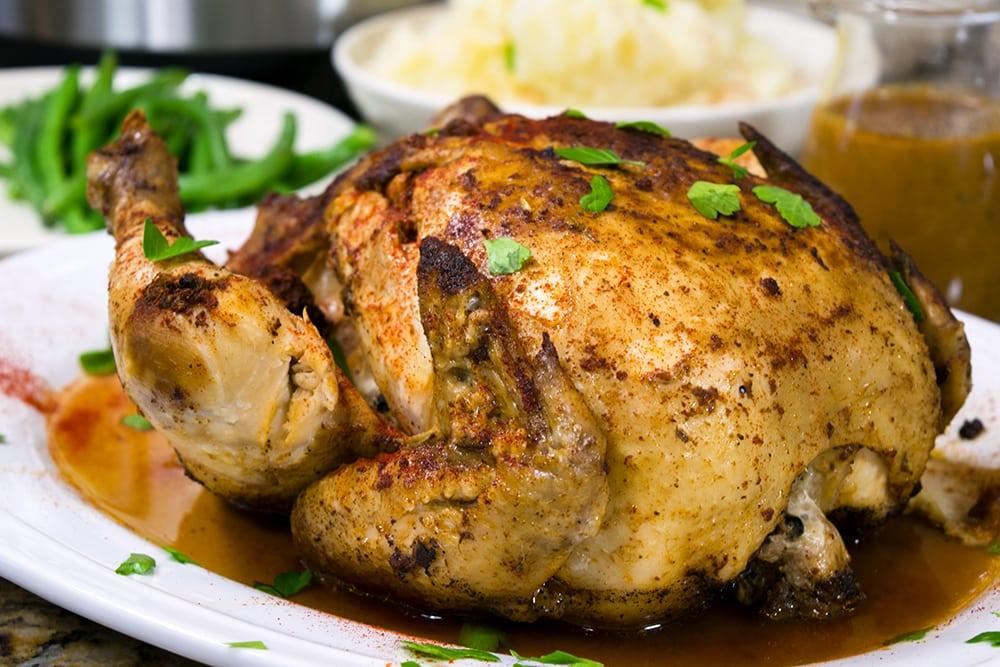 Instant Pot whole chicken pressure cooker recipe