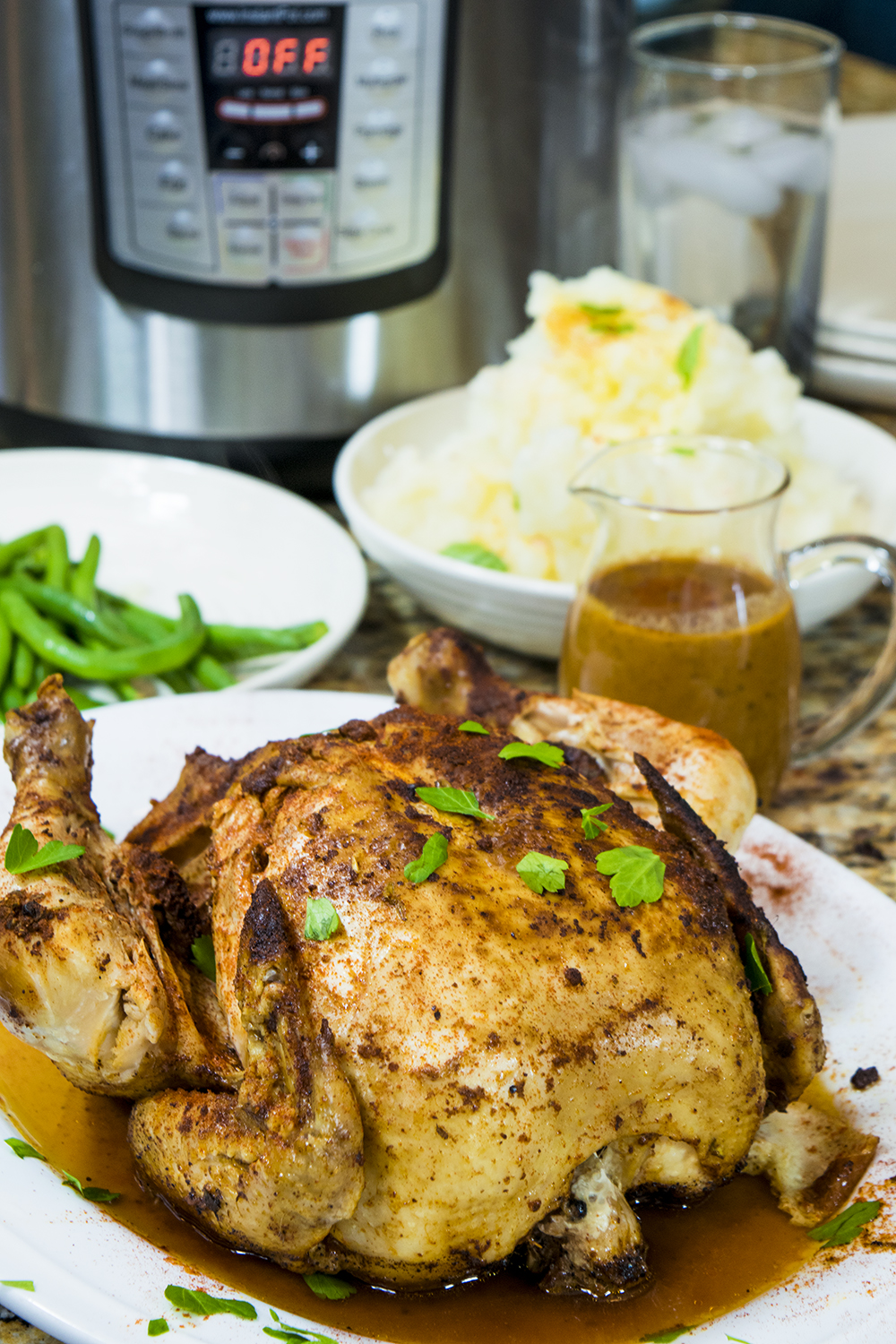 Whole Chicken Pressure Cooker Recipe for the Instant Pot
