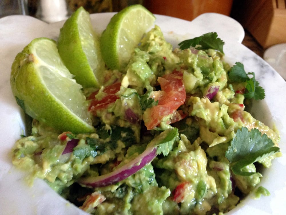 Homemade Guacamole Recipe from Platter Talk