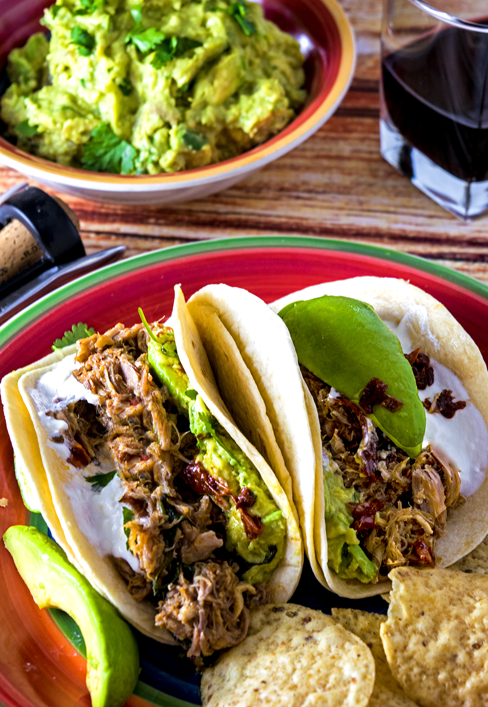 Intant Pot Pork Tacos are easy to make.
