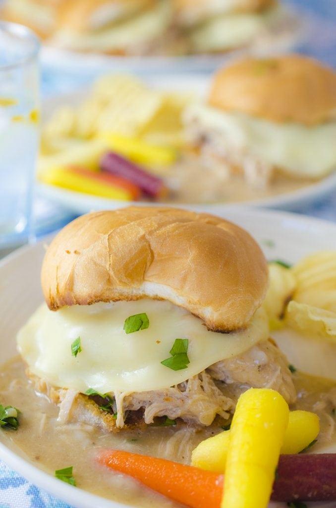 Instant Pot Hot Turkey Sandwich Recipe